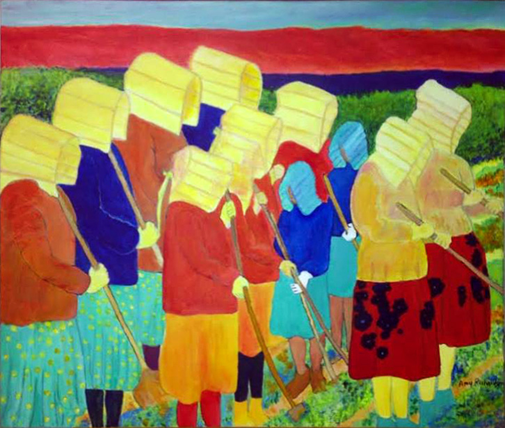 Amy Richardson - Tohono O'odham women working the fields